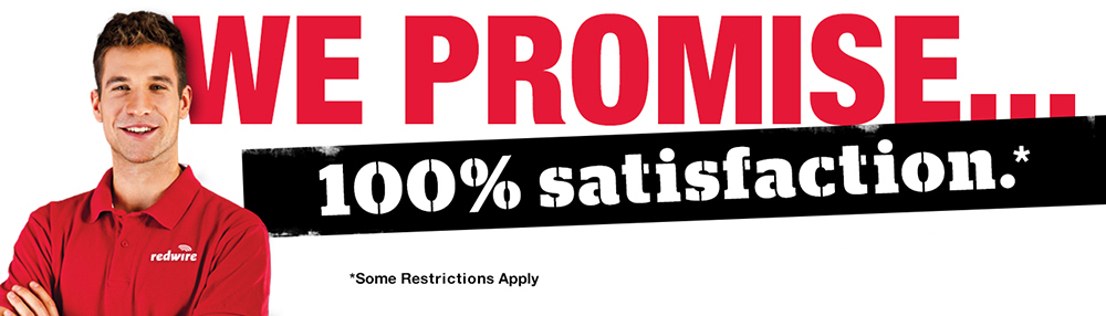 redwire-promise-100%-satisfaction